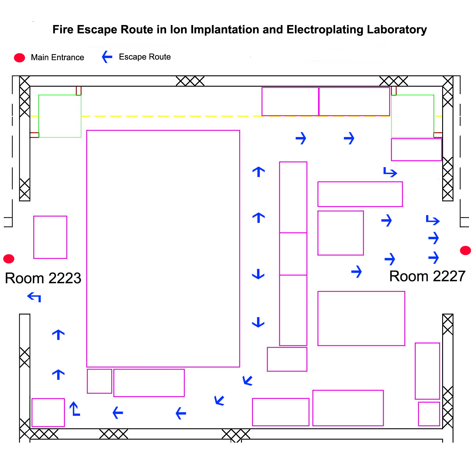 New Fab Lab Promotes Careers In Science Techology: Evacuation And Emergency Escape Route